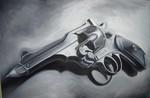 Waffe, Dungen, Schwarz, Surreal