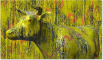 Elza, Kuh, Digitale kunst, Tiere