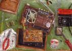 Malerei, Elektronik, Stillleben