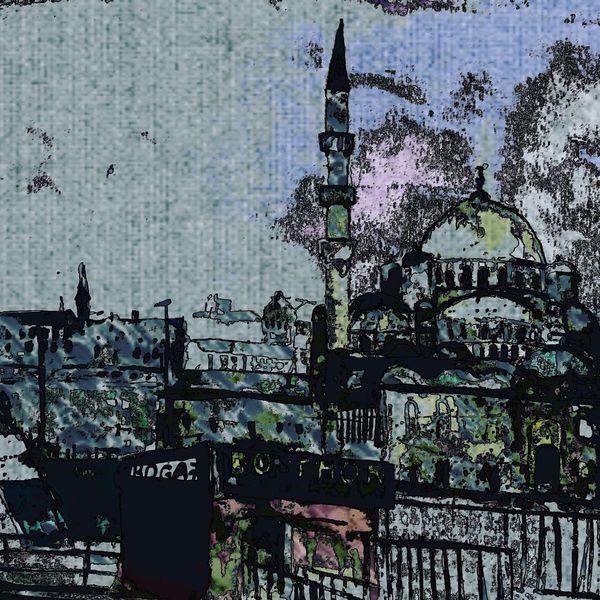 Digital, Moschee, Digitale kunst,