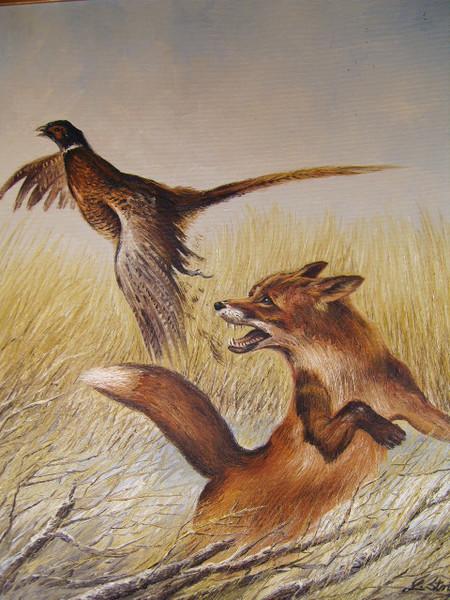 Malerei, Jagd