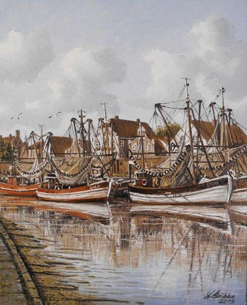 Hafen, Norden, Kutter, Schiff, Nordsee, Möwe