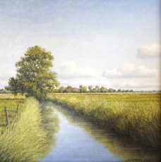 Malerei, Ostfriesland, Landschaft