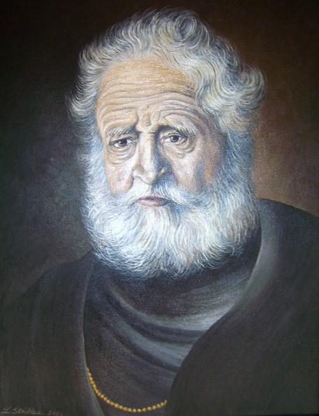 Portrait, Figural, Malerei, Ölmalerei, Malen, Alter