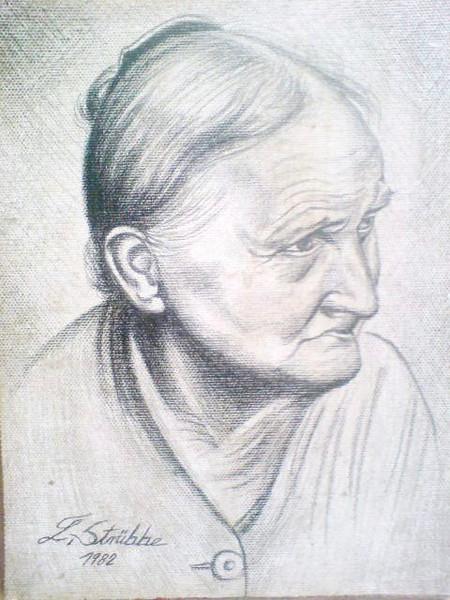 Malen, Portrait, Zeichnungen, Frau,