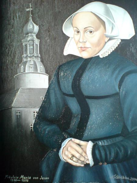 Jever, Schloss, Geschichte, Malerei, Figural,