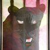 Rilke, Acrylmalerei, Augen, Müd