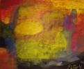 Herbst, Farben, Malerei, Acrylmalerei