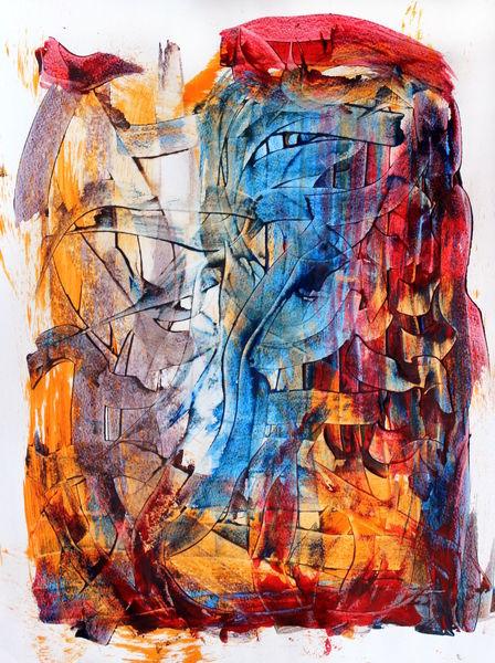 Struktur, Dekoration, Abstrakt, Farben, Modern, Formen