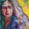 Portrait, Farben, Menschen, Figurativ