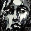 Gesicht, Frontal, Frau, Portrait