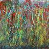 Acrylmalerei, Farben, Landschaft, Abstrakt