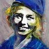 Frau, Lächeln, Gesicht, Portrait