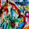 Collage, Surreal, Expressionismus, Fantasie