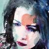 Aquarellmalerei, Menschen, Ausdruck, Gesicht