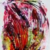 Dekoration, Abstrakt, Farben, Modern