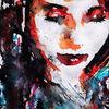Gesicht, Ausdruck, Abstrakt, Farben