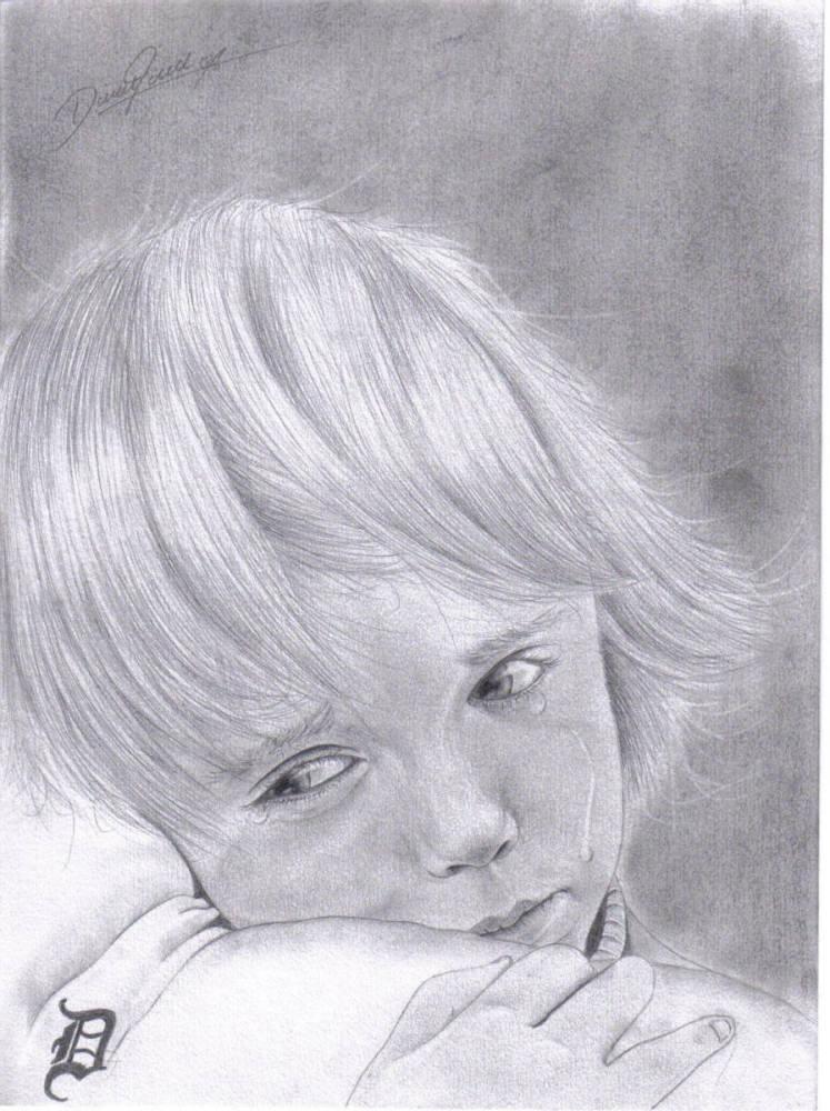 Traurig Zeichnung 103 Bilder Und Ideen Gezeichnet Auf Kunstnet