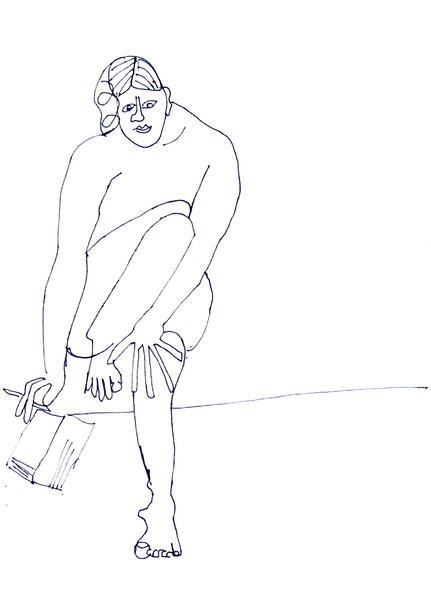 Bleistiftzeichnung, Akt, Abstrakt, Malerei, Zeichnung, Portrait