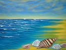 Landschaft, Meer, Malerei