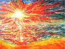 Malerei, Toben, Sonne, Bunt