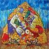 Acrylmalerei, Surreal, Gesellschaft, Malerei