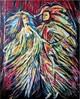 Tanz, Acrylmalerei, Narr, Malerei