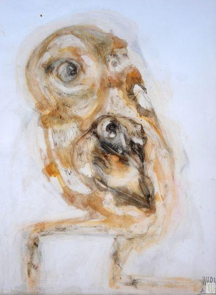 Seh, Menschtier, Fuß, Vogel, Prozess, Zeichnungen