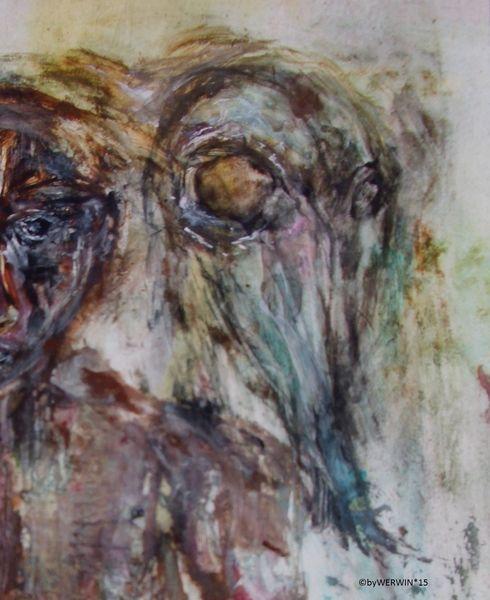 Malerei, Trauma