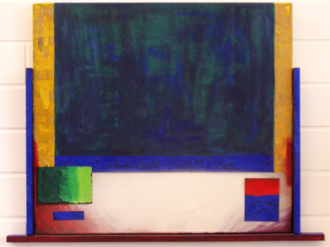Farbfeldmalerei, Colourfield, Malerei, Fundstücke,