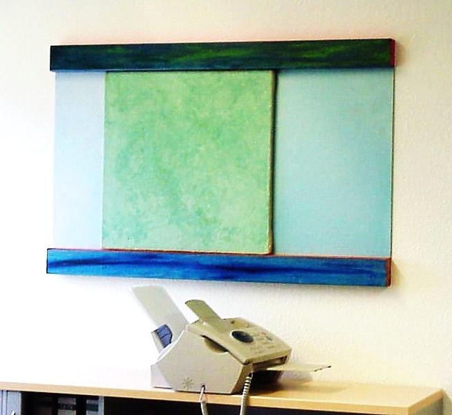Malerei, Farbfeldmalerei, Colourfield, Fundstück, Fundstücke, Installation