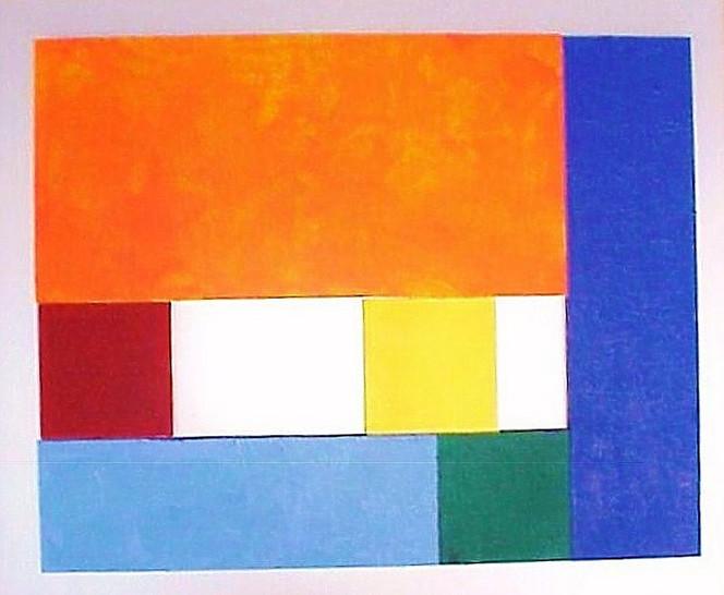 Fundstücke, Colourfield, Malerei, Farbfeldmalerei,