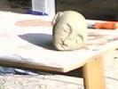 Kunsthandwerk, Stein, Speckstein, Schlafende