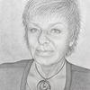 Portrait, Frau, Bleistiftzeichnung, Zeichnungen