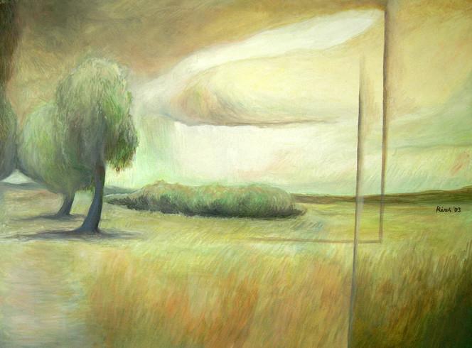 Ölmalerei, Landschaft, Malerei