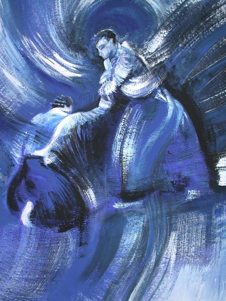 Bild aikido iaido kendo dojo von sylke gande bei kunstnet for Kendo dojo locator