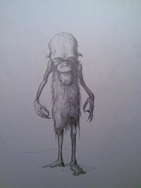 Zeichnungen, Gnom