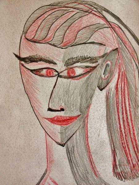 Zeichnungen, Gesicht
