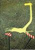 Hürde, Stolpern, Giraffe, Muster