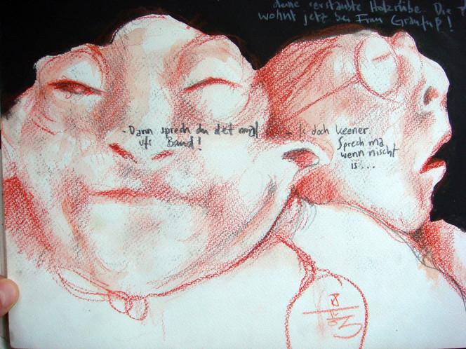 Skizze, Zeichnung, Zeichnungen, Frau
