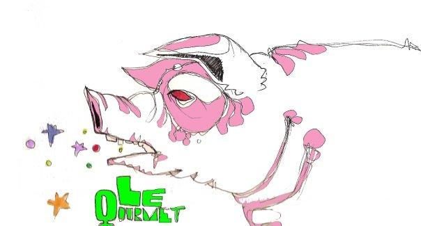 Zeichnungen, Schwein