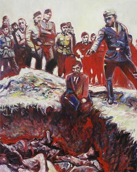 Gewalt, Tod, Krieg, Wehrmacht, Kriegsverbrechen, Drecksarbeit