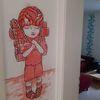 Zeichnungen, Angel, Tür,