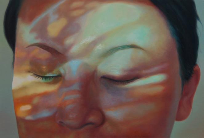 Malerei, Figural, Portrait, Leben