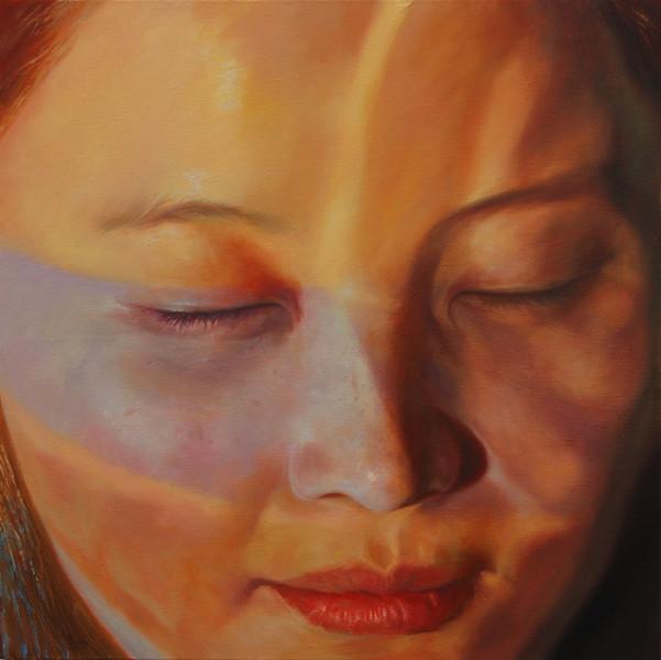 Portrait, Malerei, Figural, Leben