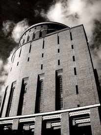 Hamburg, Stadtpark, Architektur, Planetarium