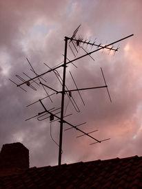 Antenne, Fotografie, Himmel