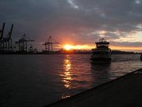 Hamburg, Landschaft, Hafen, Museumshafen