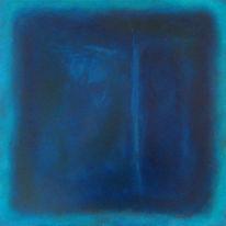 Engel, Malerei, Farbfeld malerei