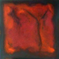 Rot, Hang, Himmel, Malerei